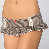 *Intimates Boutique The Mans World Skirted Thong : Karmaloop.com - Global Concrete Culture