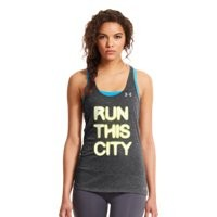 Under Armour Women's UA Run This City Charged Cotton® Tri-Blend Tank