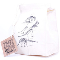Canvas Dinosaur Lunch Bag