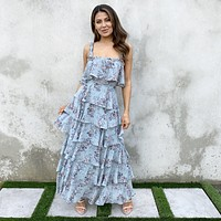 Level Up Floral Maxi Dress