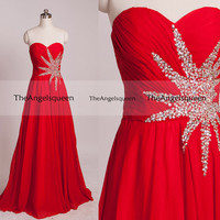 Red sweetheart sequins beading long prom dresses,prom dresses,bridesmaid dresses,party dresses,evening dresses,prom dress,party dress,evenin