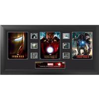 Iron Man Trilogy Framed Film Cell