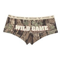"Woman's Smokey Branch ""Wild Game"" Booty Shorts"