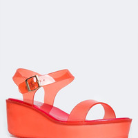 ANKLE STRAP JELLY SANDAL
