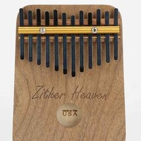 12 Note Thumb Piano- Brown One