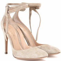 Carla High suede pumps