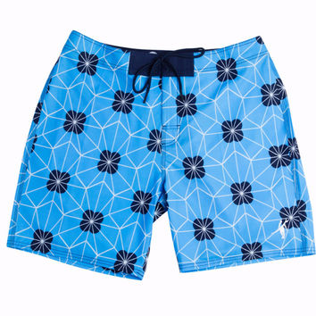 Toes on the Nose Radical Boardshort Blue