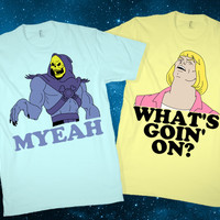 What's Goin' On? Couples Shirts