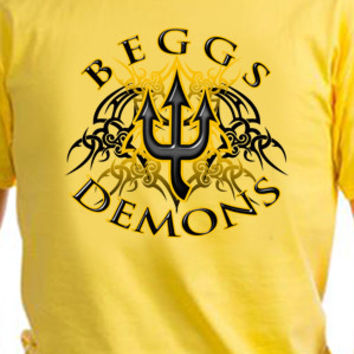 Beggs Demons Tribal T-Shirt
