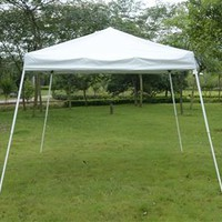 10' x 10' Pop Up Canopy Tent – White