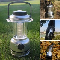 Outdoor Camping Lantern Lamp With Compass Portable Tent Latern Adjustable LED Hiking Camping Tents Light