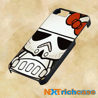 Hello Kitty Stormtrooper for iphone, ipod, ipad and samsung galaxy case