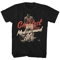 Mens Muhammad Ali Great Retro T-Shirt