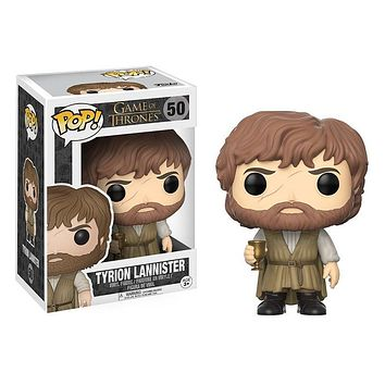 FUNKO Pop Game of Thrones 8 Tyrion Lannister & Brandon On Chair Action Figure Toys Game of Thrones Figure Collection Hot Toys|Action & Toy Figures