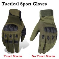 Tactical Gloves Army Military Shooting Combat Gloves Outdoor Hunting Hiking Cycling Sport Gloves Full Finger Men's Mittens
