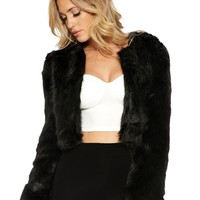 Want U Fur Now Jacket - Outerwear - Womens