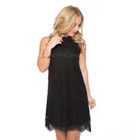 Next To You Lace Dress In Black
