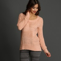 Sale- Pink Cozy And Casual Sweater