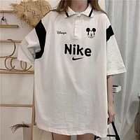 Hot33 Printing Short Sleeve T-Shirt Tops Clothing T shirt cotton