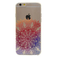 orange lace floral iphone 6 6s plus case cover gift 39