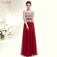 Prom Dresses HE08429 2016 New Arrival Women Sleeveless Ever Pretty Long Sexy Plus Size Prom Dresses