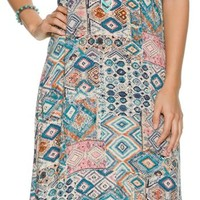 SWELL CANTERBERRY MAXI DRESS