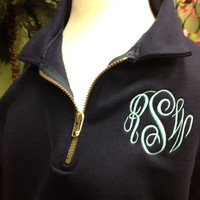 HOT SELLER Monogrammed Pullover Sweatshirt for by thepalmgifts