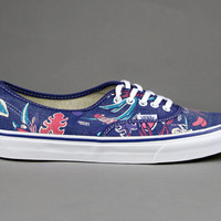 Vans - Vans  - Van Doren Authentic Slim (Blue Parrot) - Ubiq Life