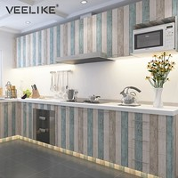 Kitchen Door Cabinet PVC Contact Paper Furniture Wall Stickers Bedroom Living Room Background Waterproof Self Adhesive Wallpaper