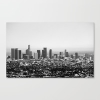 Los Angeles, CA Canvas Print by shaira