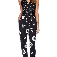 Issa Rousso Jumpsuit in Black
