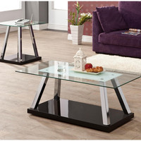 Larsen Occasional 3 Piece Coffee Table Set