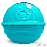 Aqua Blast Bluetooth Floating Pool Speaker System with Built-in Rechargeable Battery and Wireless Music Streaming (Blue Color)