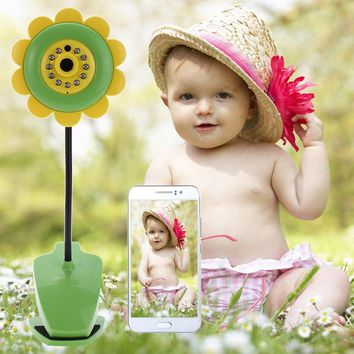 Sunflower Wireless Baby Monitor Video Baby monitor with IR Night Vision