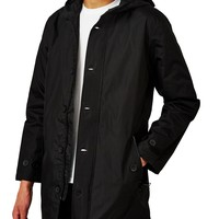 The Idle Man Poly Fishtail Mac Black