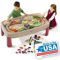 Step2 Deluxe Canyon Road Train and Track Table - Walmart.com