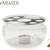 SAHARA Teapot Warmer by GROSCHE; Heat proof High Quality Glass,In original Grosche branded box