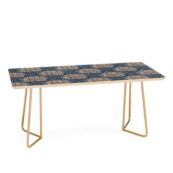 Pimlada Phuapradit Checkerboard blue and pink Coffee Table