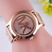 DCCKNQ2 MK Fashion Diamonds Watch Masonry Watches Business Watches