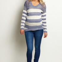Navy-Blue-Stretch-Maternity-Skinny-Jeans