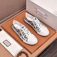 DIOR Men Fashion Boots fashionable Casual leather Breathable Sneakers Running Shoes-51
