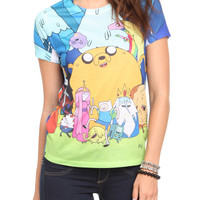Adventure Time Group Girls T-Shirt | Hot Topic