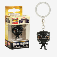 Funko Pocket Pop! Marvel Black Panther Bobble-Head Key Chain