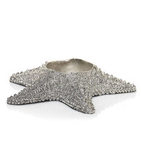 Silver Starfish : Tea Light Candle Holder : Yankee Candle