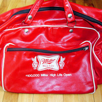 Vintage Miller High Life Open Bag