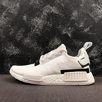 adidas NMD R1 Colorblock Pack Cloud White Running Shoes