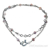 Chain of Circumstance Pearl Twist Necklace