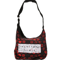 Twenty One Pilots Red Icon Hobo Bag