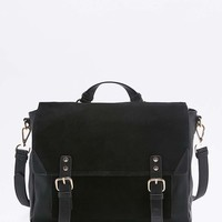 Suede Buckle Satchel Bag - Urban Outfitters