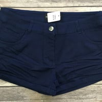 Simply Perfect Shorts: Navy